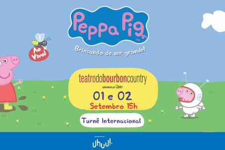 Peppa Pig em Porto Alegre