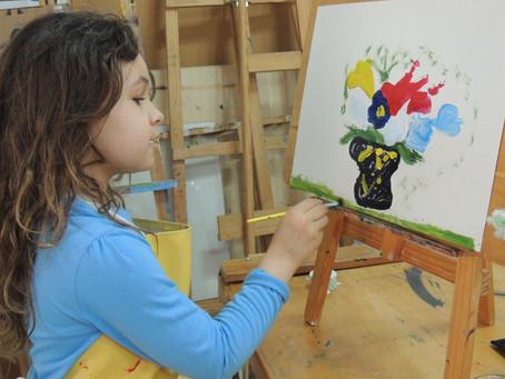 Arte para Crianças: Oficinas de Verão