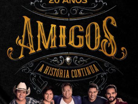 AMIGOS - 20 Anos - A História Continua