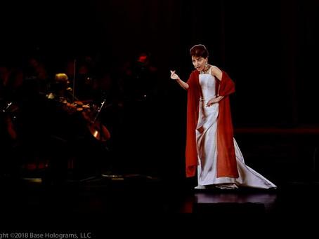 Callas in Concert – The Hologram Tour no Brasil