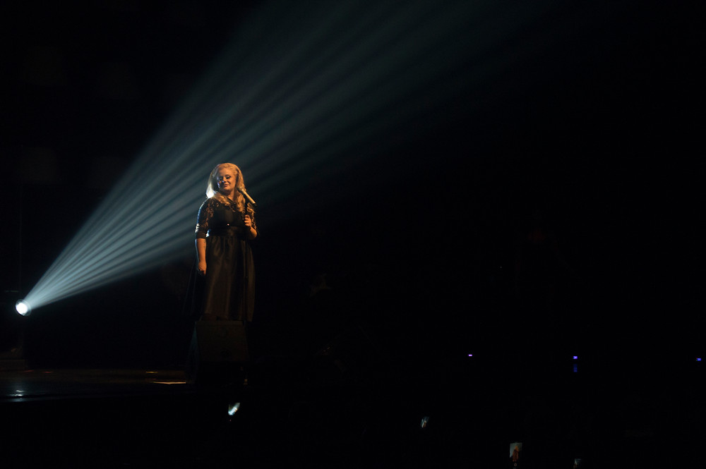 Stephanie Lii em Hello Adele Tribute em Porto Alegre