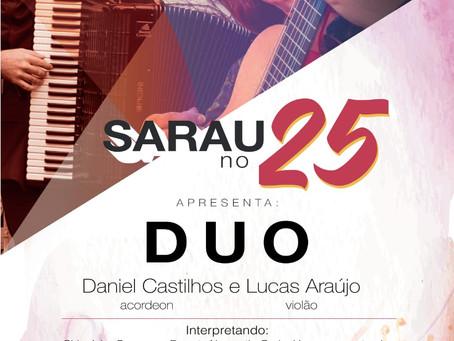 Sarau no 25 - Duo de Acordeon e Violão