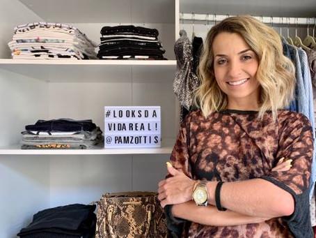 Consultora de estilo Pamela Zottis apresenta workshop online e gratuito