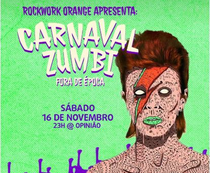 Rockwork apresenta: Carnaval Zumbi Fora de Época