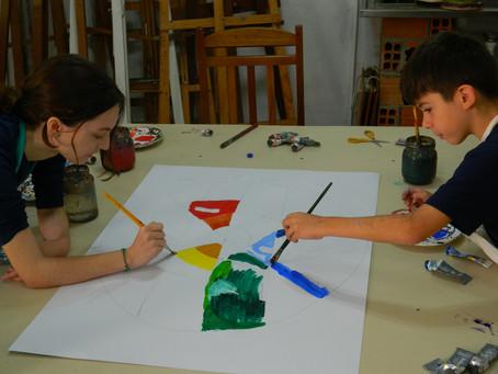 Oficinas de Arte para Crianças