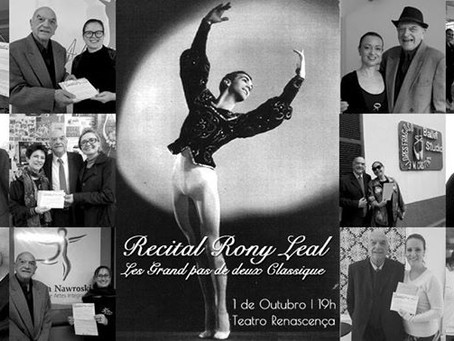 Ballet Clássico no recital de Rony Leal