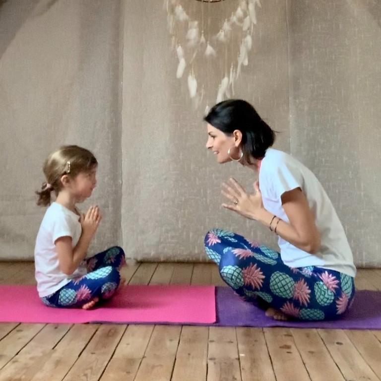 Atelier YogaByEva Parent/Enfant à partir de 3ans