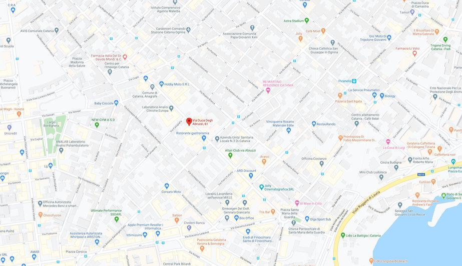 Via Duca Degli Abruzzi, 61 - Google Maps