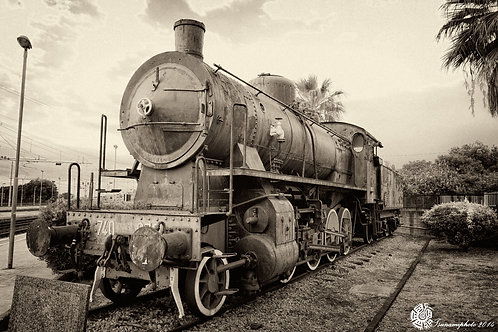 Ancient Locomotive