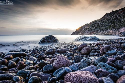 Stone Beach  - Lipari  -  Messina
