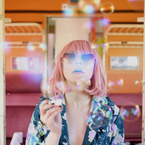 Bubblegum girl on a journey to nowhere