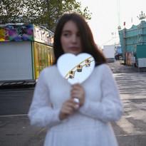 Running around empty funfairs, 2019