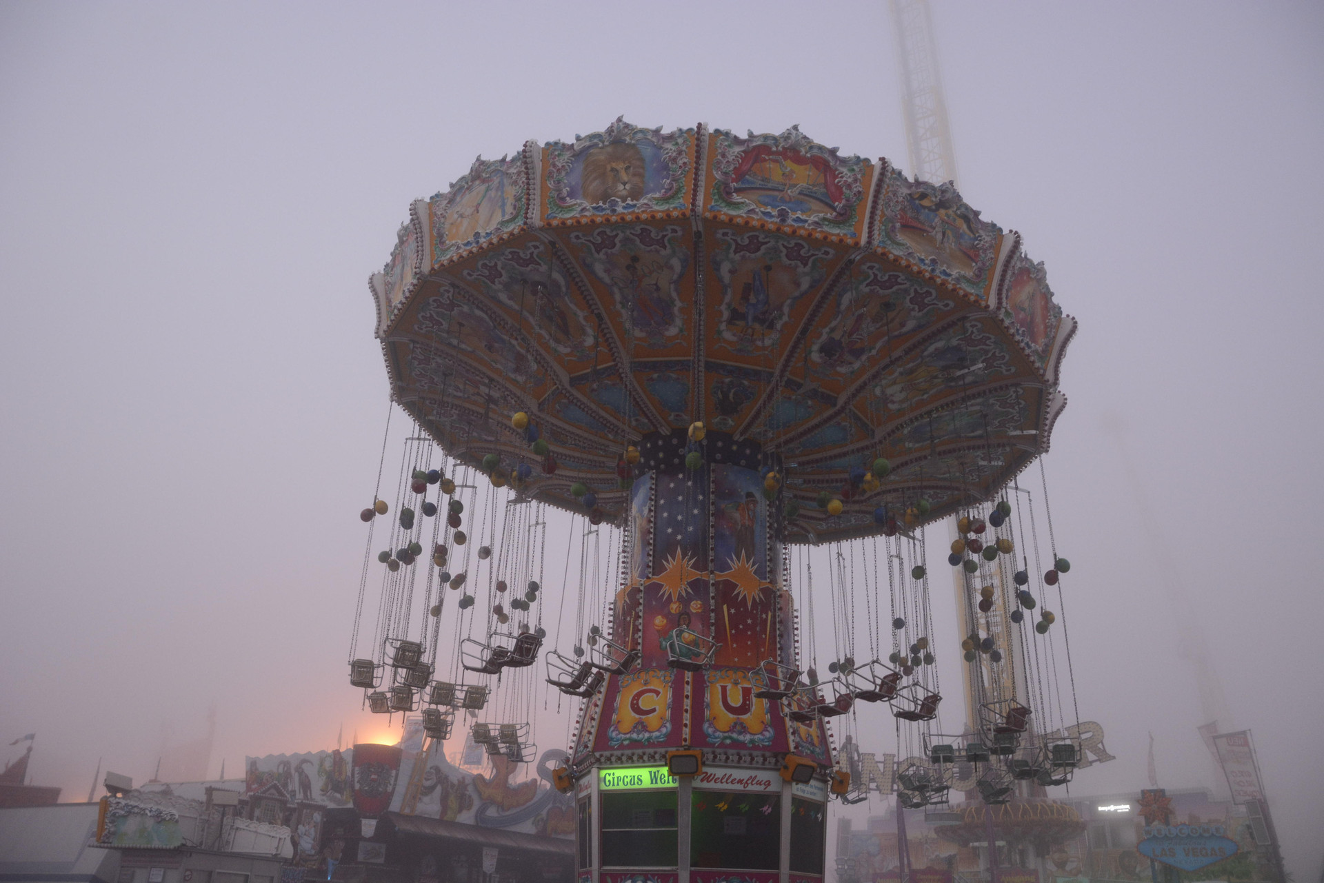 Fun at empty Funfairs.