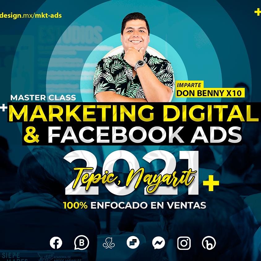 MKT Digital y Facebook Ads TEPIC