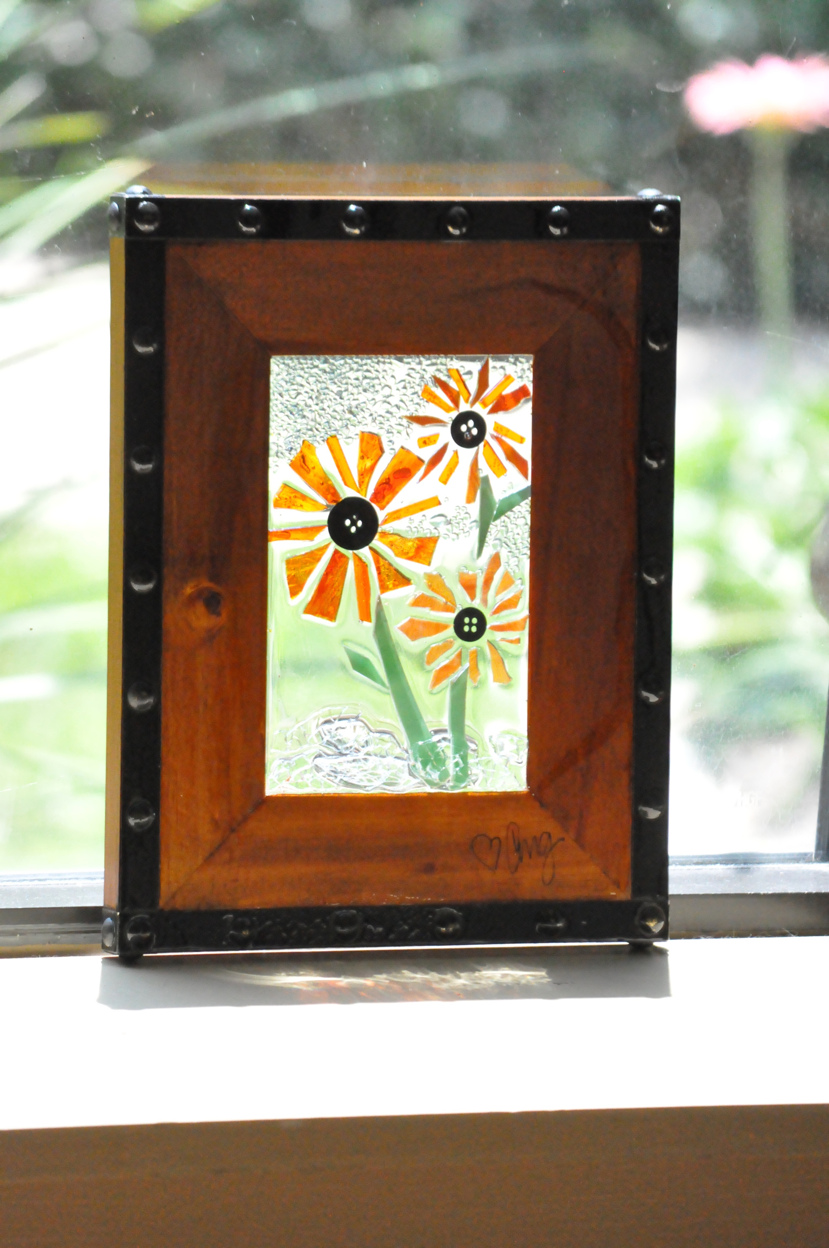Aug 20- 5x7 Glass on Glass