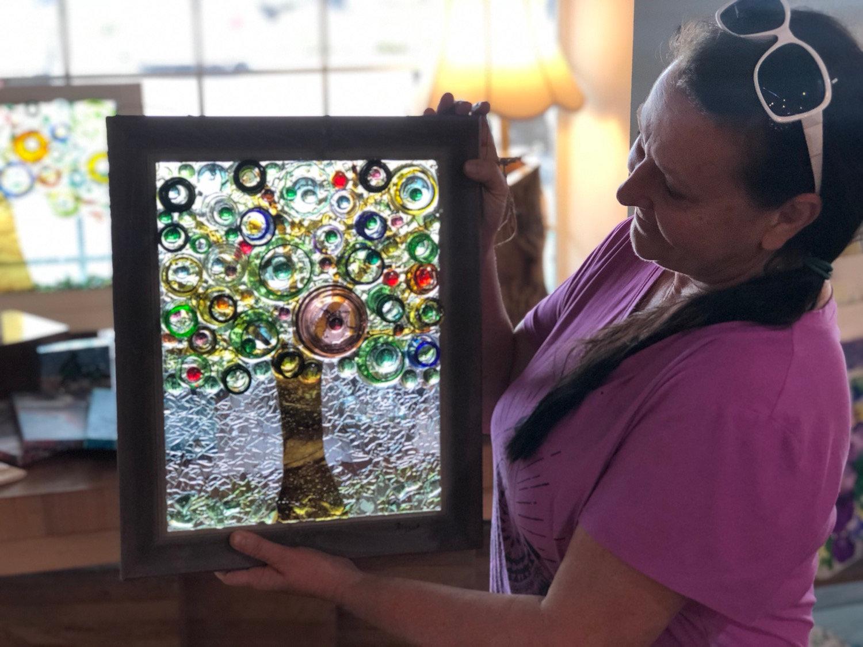 Aug 14- 11x14 Glass on Glass