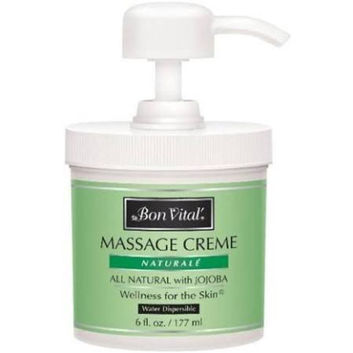 Bon Vital Naturale Massage Cream 6oz
