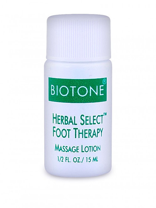 Herbal Select Foot Therapy Massage Lotion 1/2oz