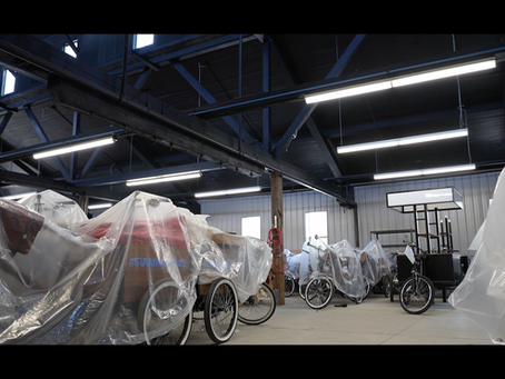 Why A Bike Manufacturer Started Making Face Shields