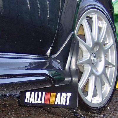 Mitsubishi Evo 5 / 6 Ralliart Mudflap Set