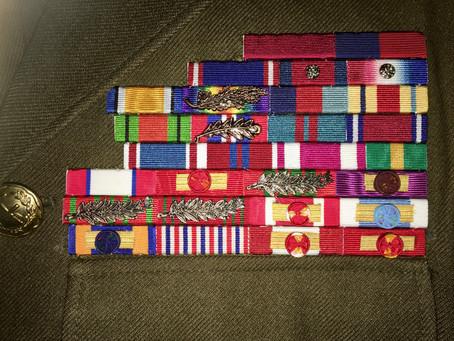 New Medal Ribbon Bars.