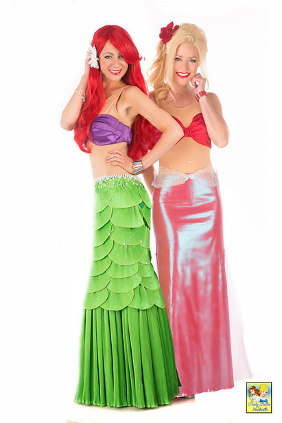 Ariel and Arista Mermaids