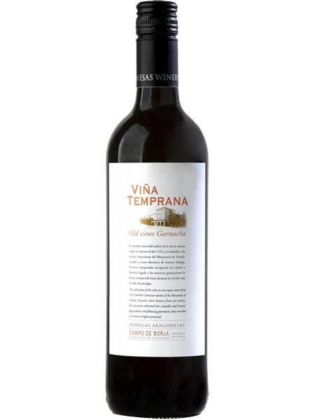 Vina Temprana Old Vines Garnacha Bodegas Aragonesas 2018