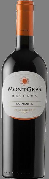 Carmenere Reserva MontGras 2018