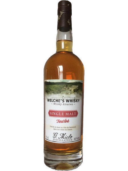 Whisky Welche`s Tourbe Single Malt Distillery G. Miclo