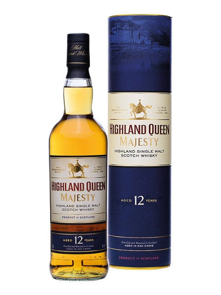 Whisky Highland Queen Majesty 12 Years Old