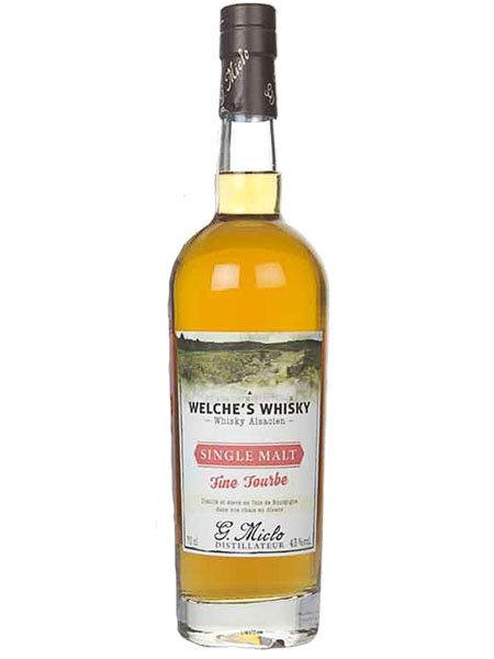 Whisky Welche`s Fine Tourbe Single Malt Distillery G. Miclo