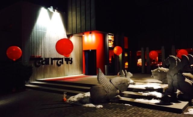 LED - Ballons ; Tantris München