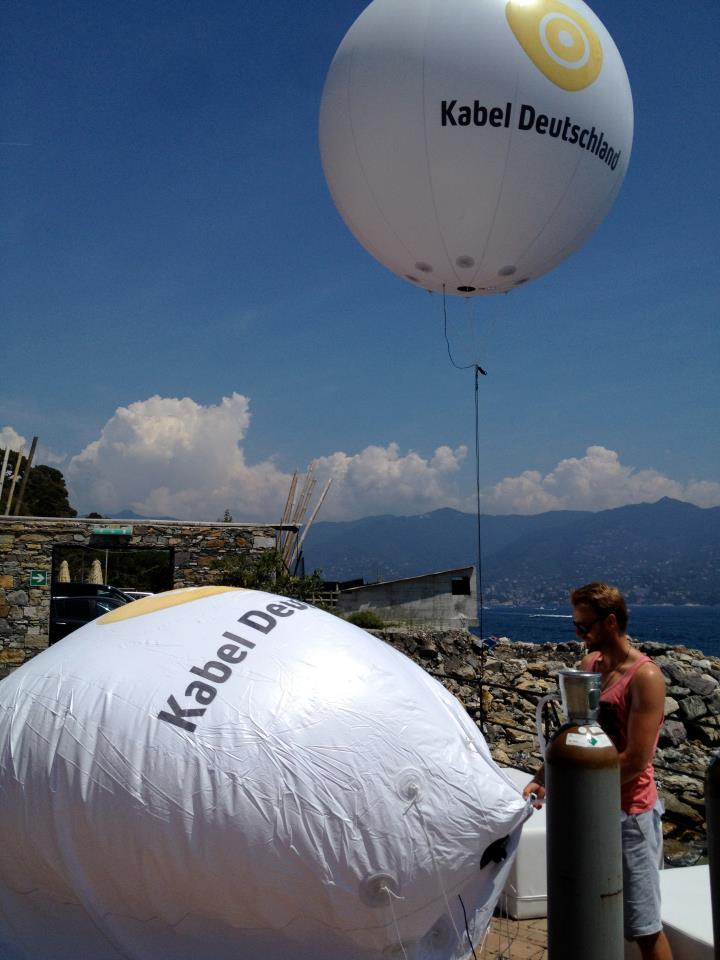 Kabel Deutschland Ballonaktion Italien