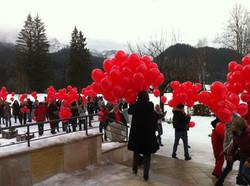 Ballondeko Luftballondekoration