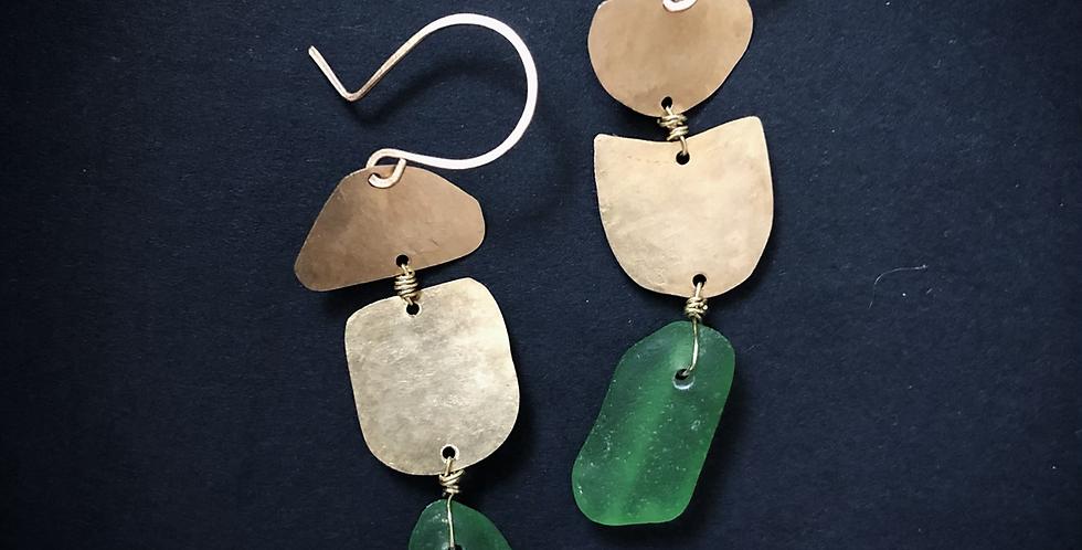 Sea Glass Earrings | No. 6
