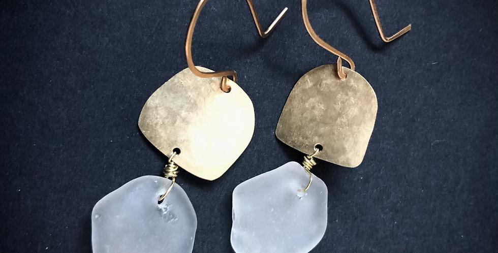 Sea Glass Earrings | No. 28