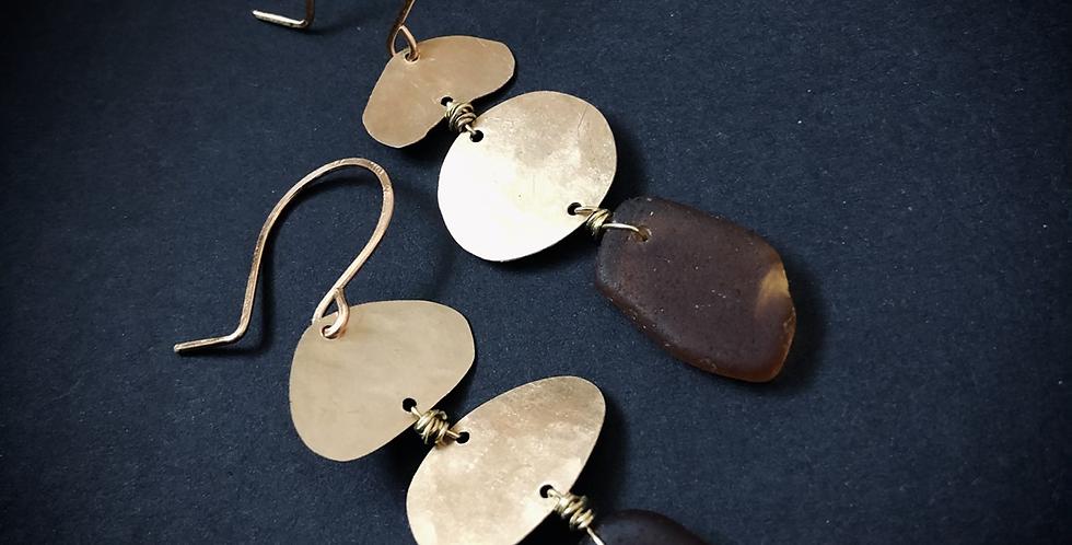 Sea Glass Earrings | No. 22