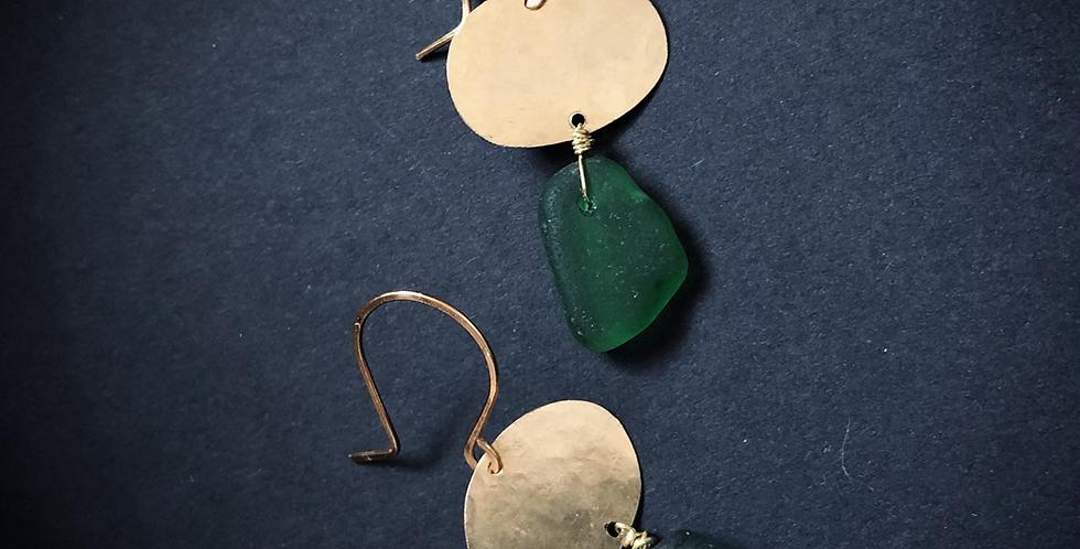 Sea Glass Earrings | No. 8