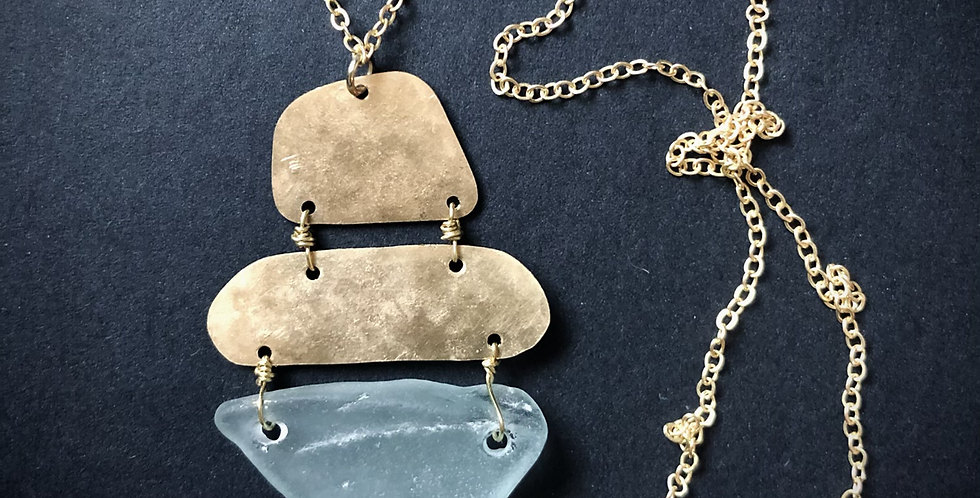 Sea Glass Necklace | No. 6