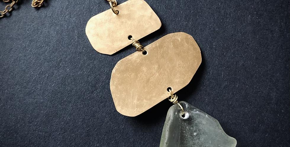 Sea Glass Necklace | No. 1
