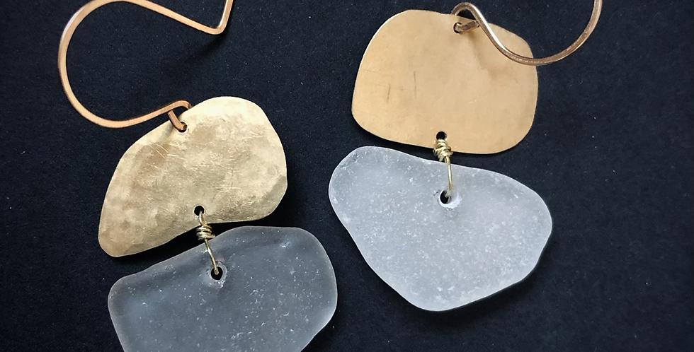 Sea Glass Earrings | No. 30