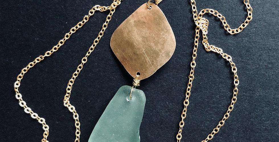 Sea Glass Necklace | No. 3
