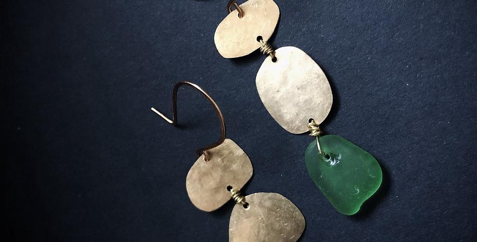 Sea Glass Earrings | No. 9