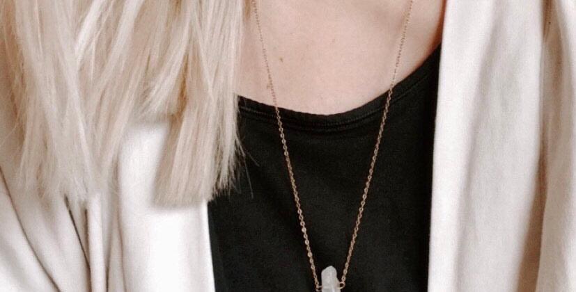 Fern Drop | Necklace