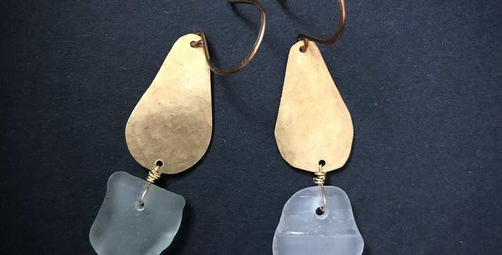 Sea Glass Earrings | No. 1