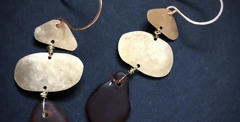 Sea Glass Earrings | No. 23