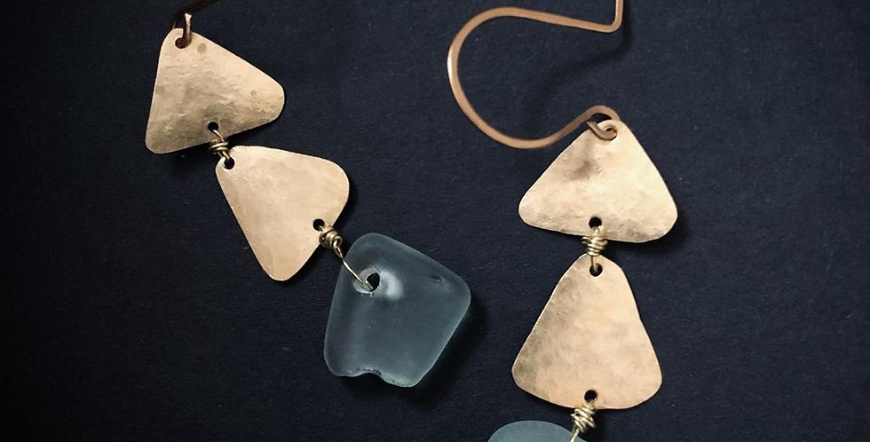 Sea Glass Earrings | No. 3
