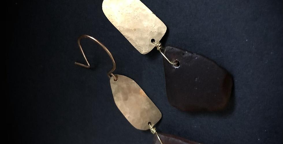 Sea Glass Earrings   No. 24