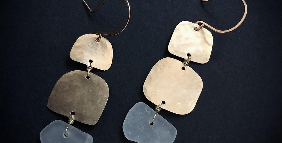 Sea Glass Earrings | No. 25