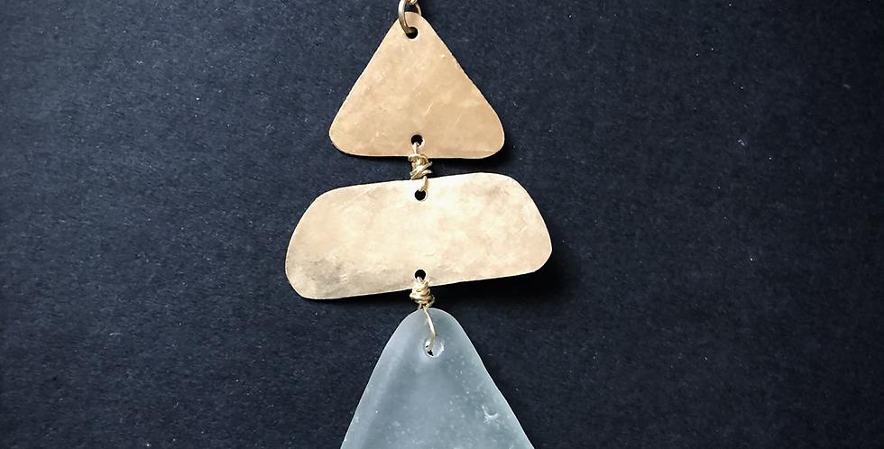 Sea Glass Necklace   No. 7